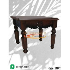 PEONY ANTIQUE OAK MAHOGANY STAIN SMALL - COFFEE TABLE